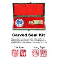 Medium Foo Dog Chinese Seal Carving Kit